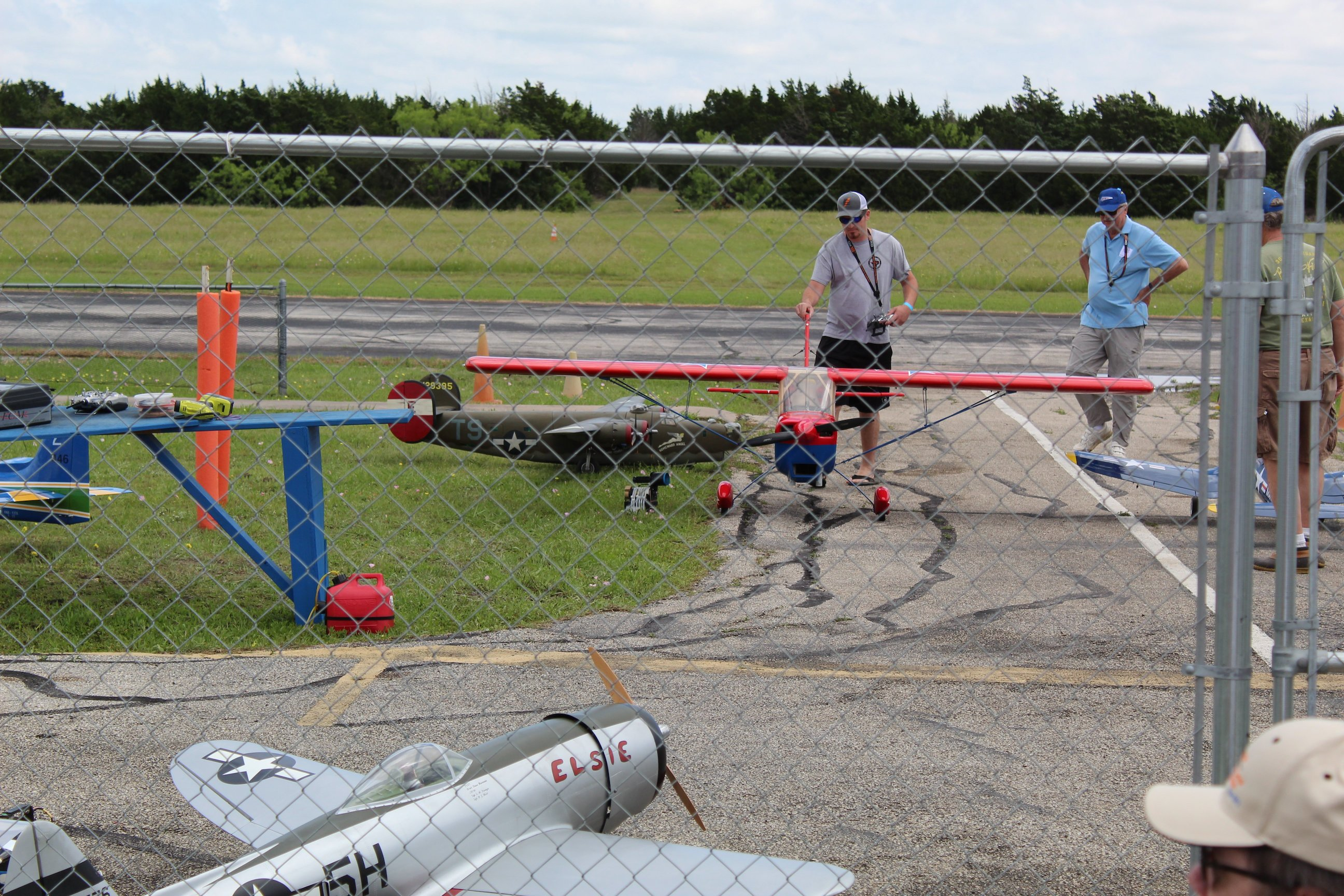 May 2019 ARCA Airshow Biplane Model